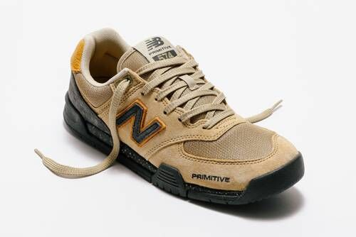 Tan-Tonal Skate Sneakers