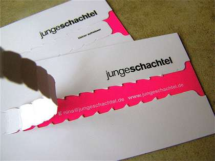 Offbeat Business Cards