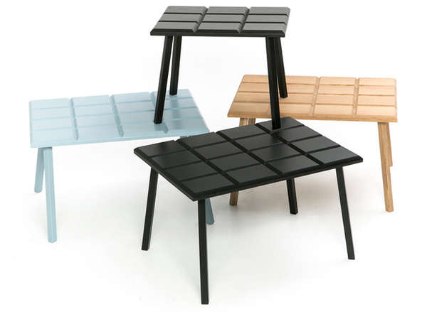 Candy Bar Coffee Tables