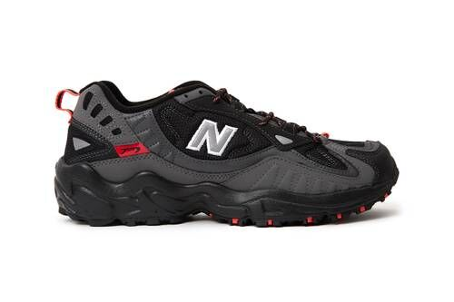 Stealthy Trail-Ready Sneakers