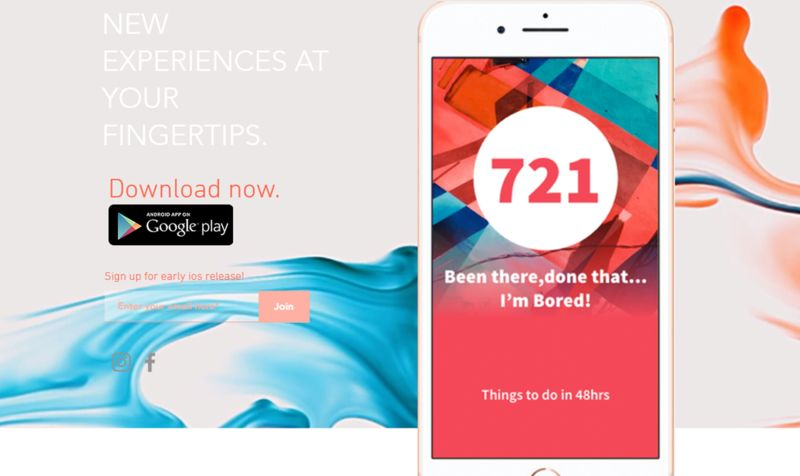 Social Experience Discovery Apps