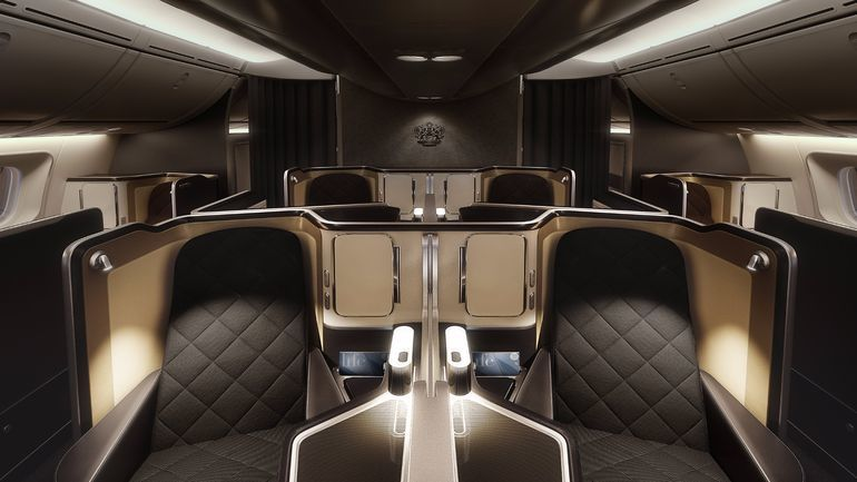 Luxurious First Class Cabins