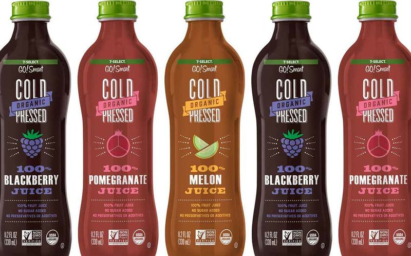 Single Ingredient Convenience Store Juices 7 Select Go Smart