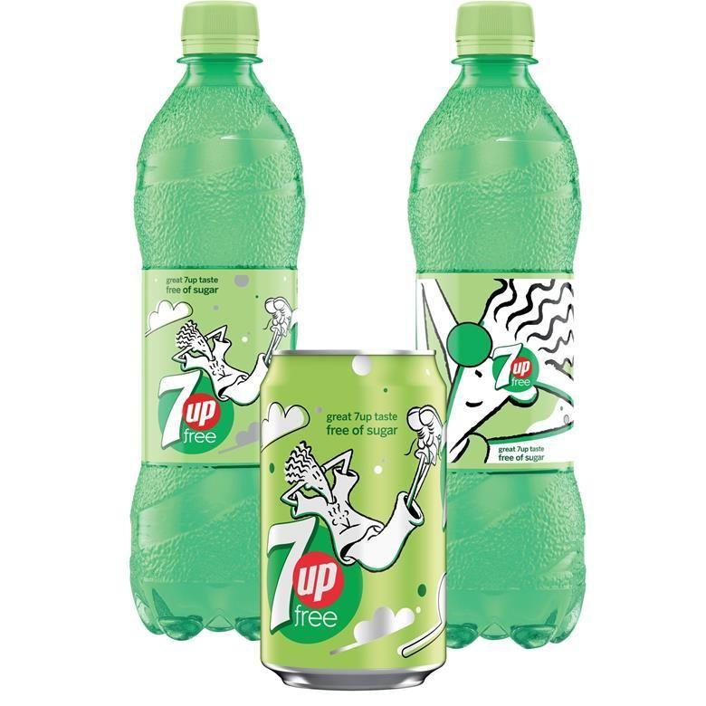90s Cartoon Soda Branding