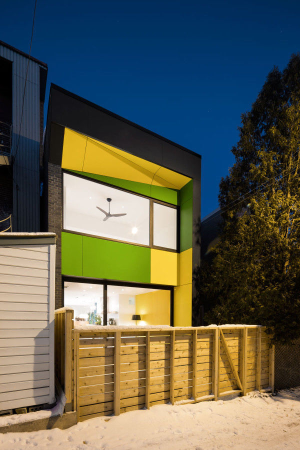 Colorful Modern Homes
