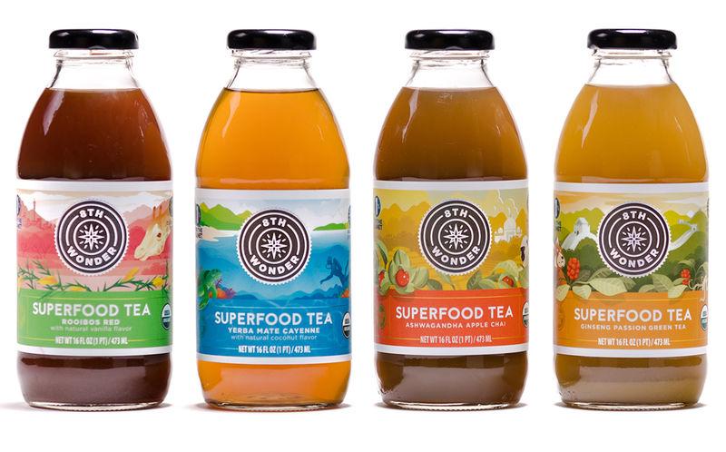 Superfood-Infused Prepackaged Teas