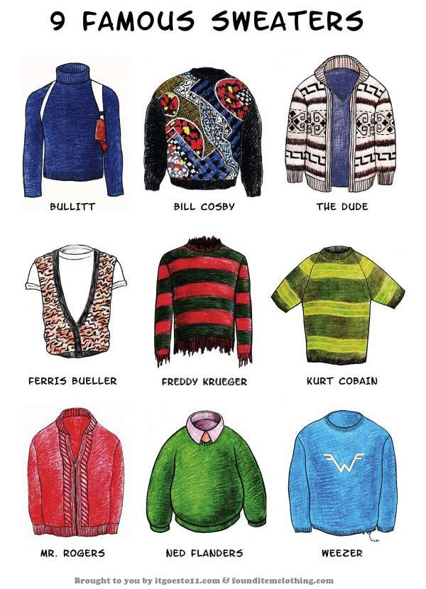 Iconic Character Cardigans