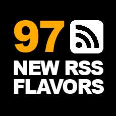 97 New Flavors of RSS!