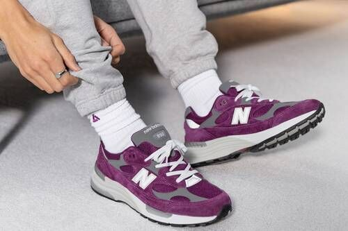 Deep Violet Casual Sneakers