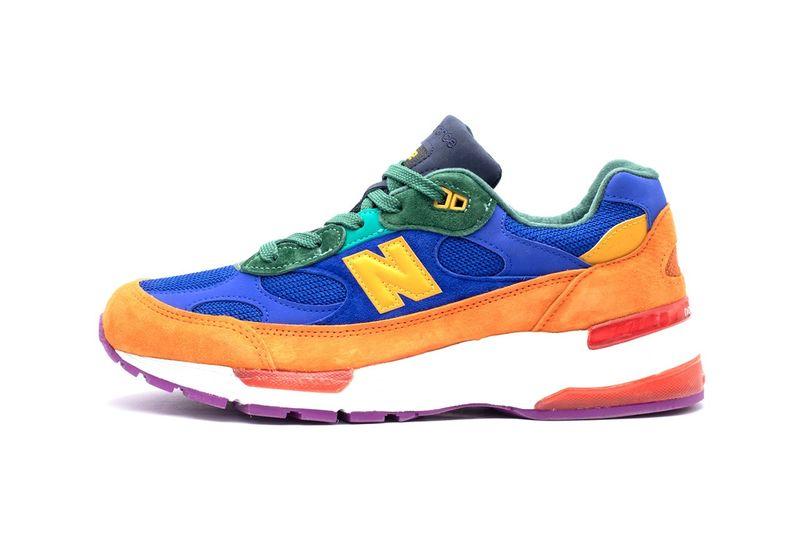 Vibrant Retro Sneaker Colorways