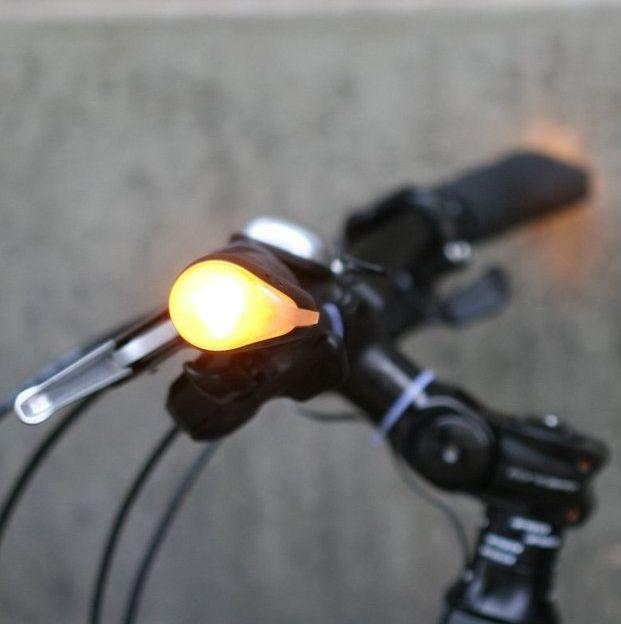 Signaling Bike Handlebar Lights Blinker Grips