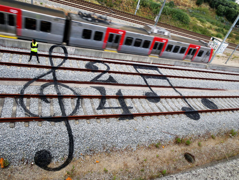 Railroad Street Art