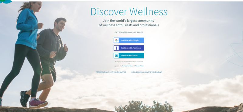 Online Wellness Communities