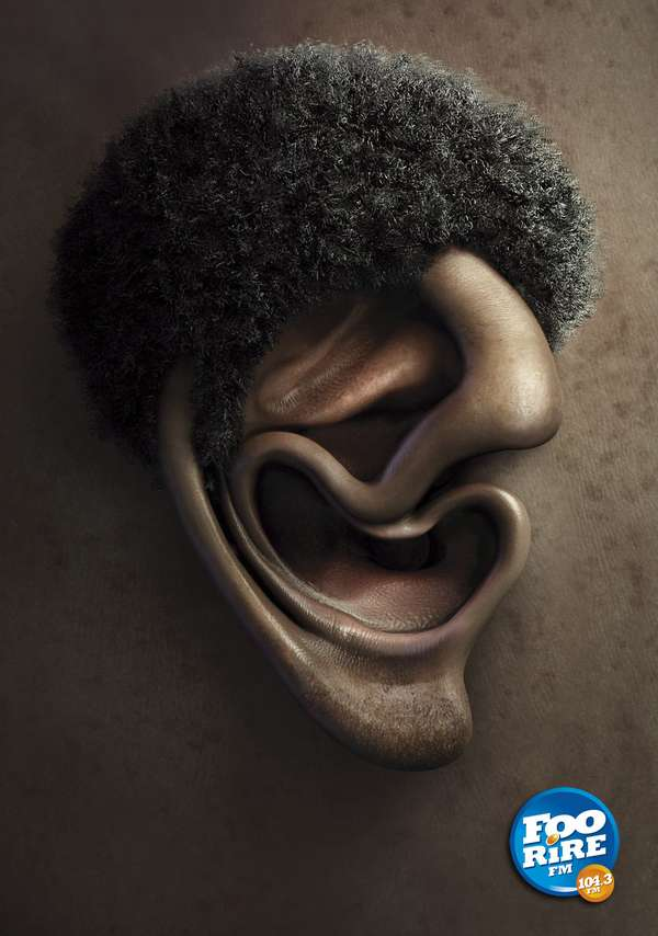 Personified Ear Ads