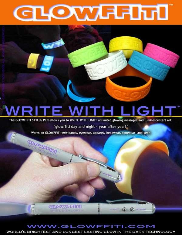 Light-Writing Apparel