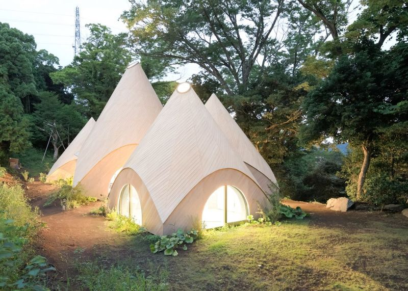 Conical Japanese Homes