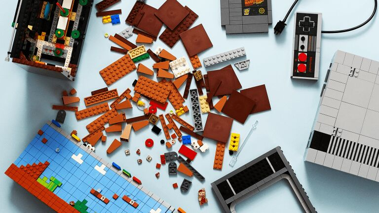 Gaming System Brick Toys