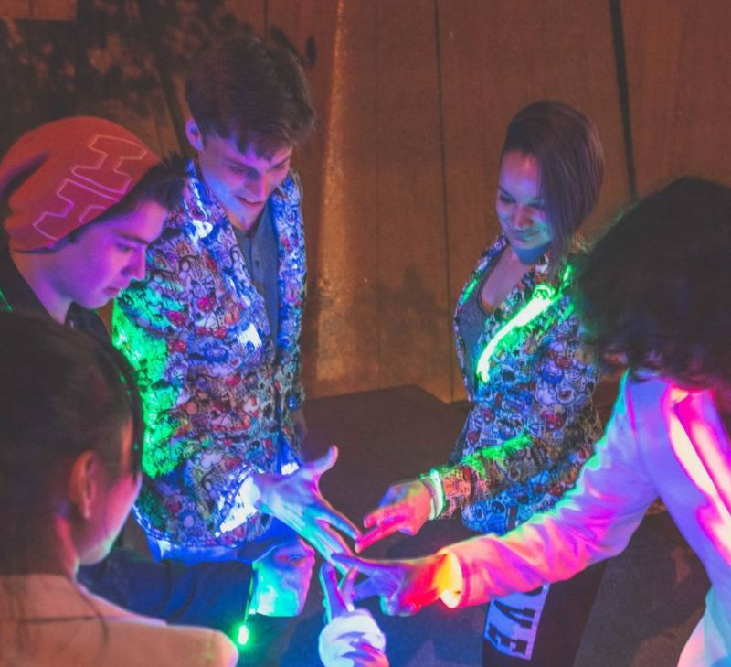 App-Enabled LED Jackets