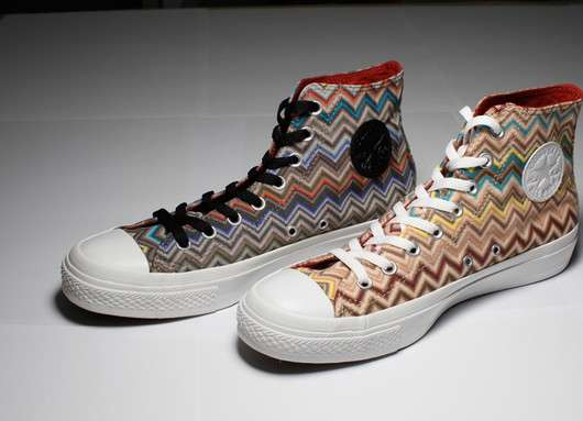 Zigzag High-Tops