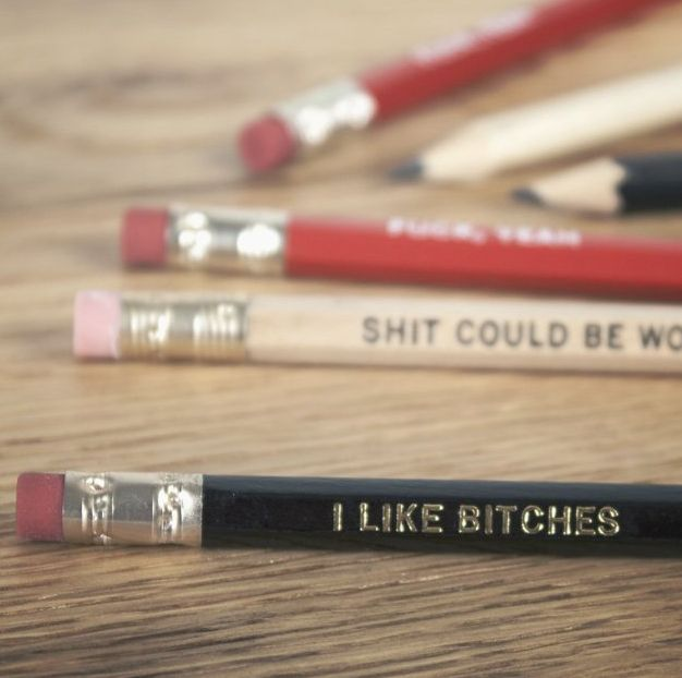 Coarse Language Pencils