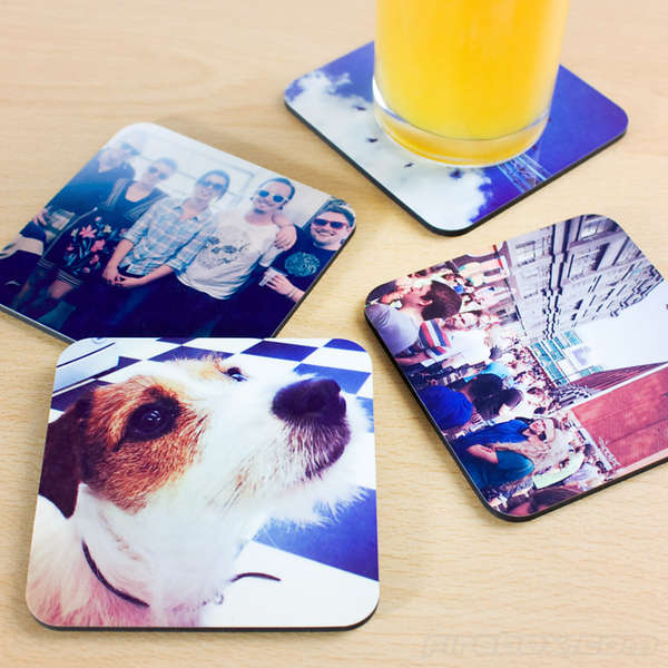 Personalized Photo App Coasters