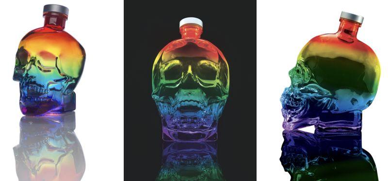 Inclusive Skull-Themed Vodkas