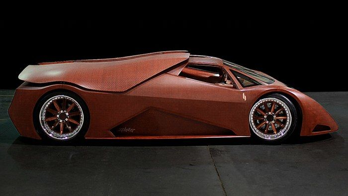 Exotic Wooden Cars