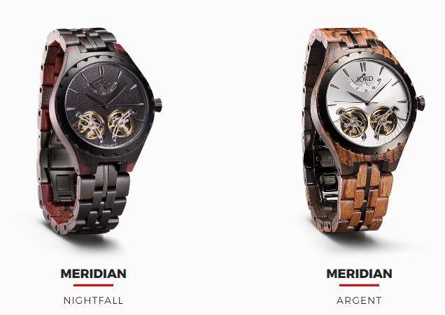 Sustainable Tech Wood Watches