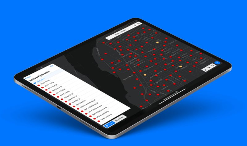 Visual Field Data Apps