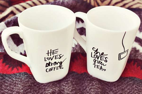 DIY Customized Mugs