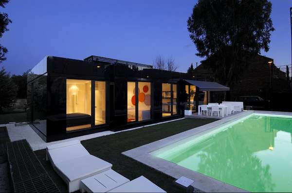 Reflective Pre-Fab Homes