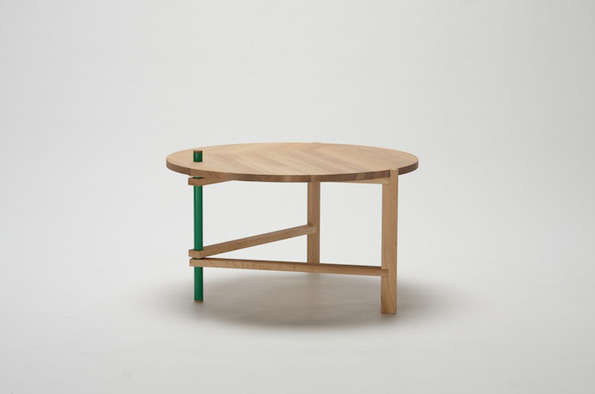 Quirky Foldable Furniture A Frame Tables