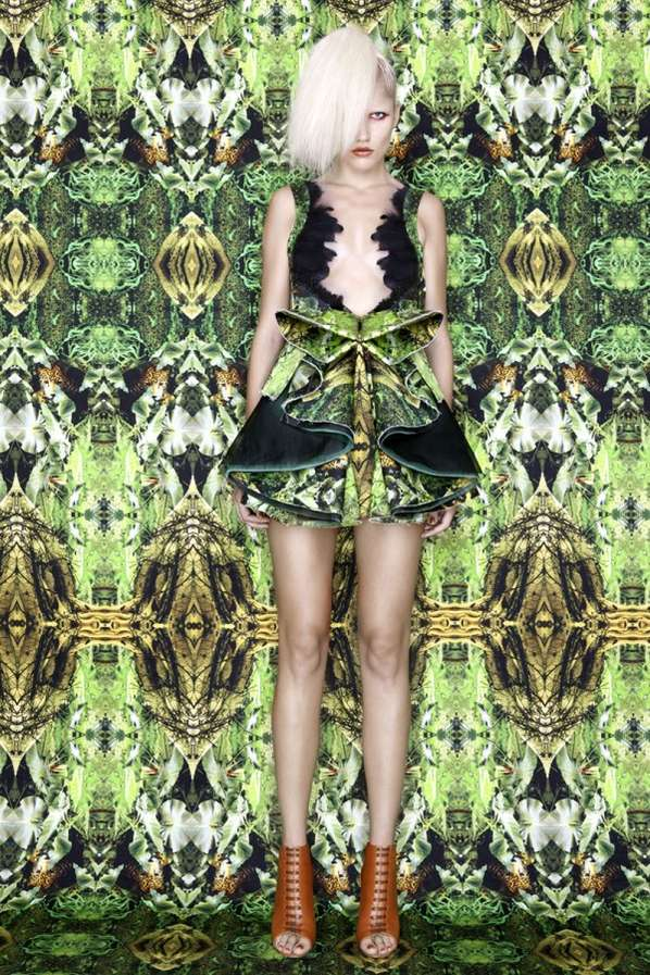 Psychedelic Camouflage Couture