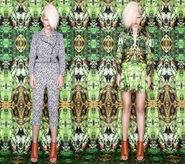 Psychedelic Rainforest Lookbooks