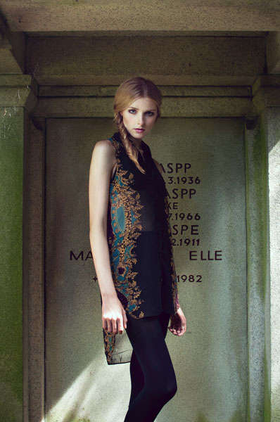 Elegant Mausoleum Editorials