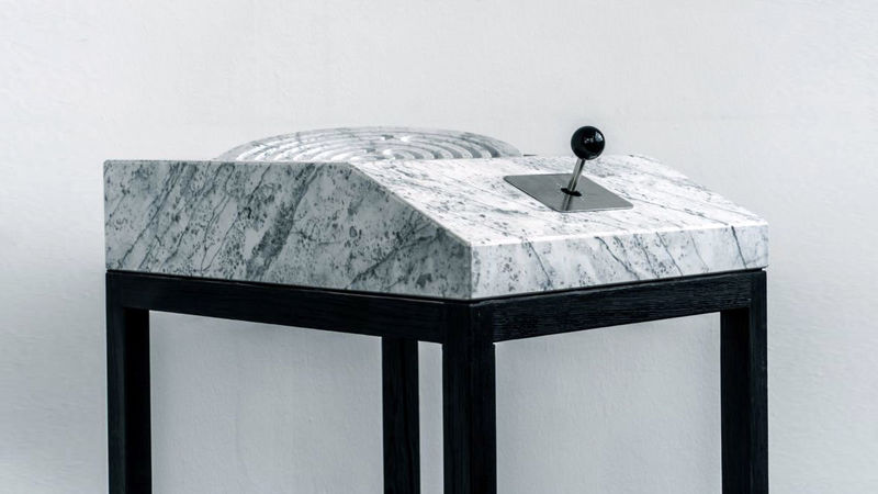 Analog Marble Gaming Consoles