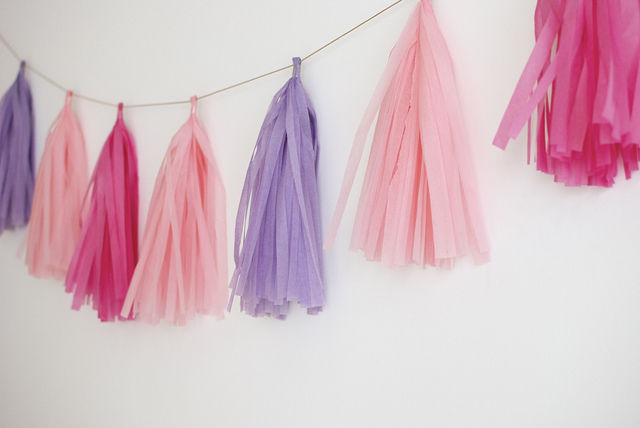 diy tassel garland 39 a pair and a spare 39 decor. Black Bedroom Furniture Sets. Home Design Ideas