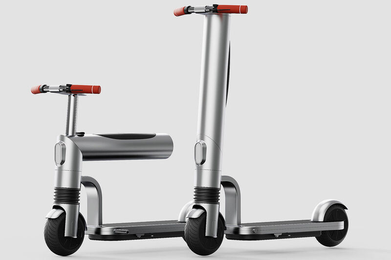 Adjustable Biometric Electric Scooters