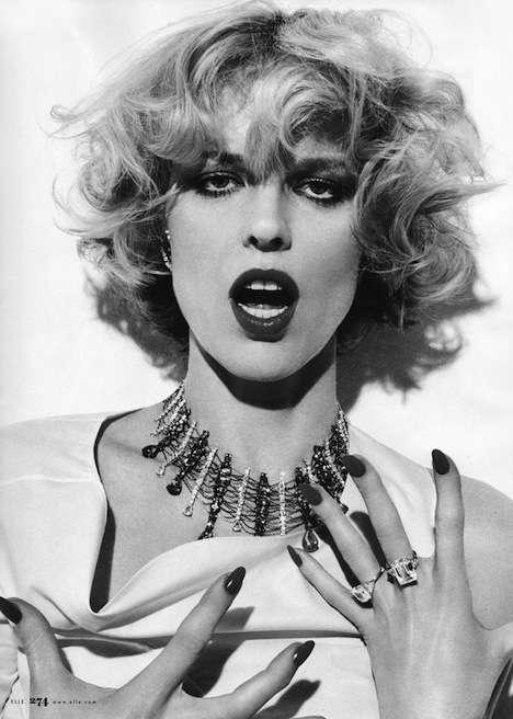 Marilyn-Inspired Editorials