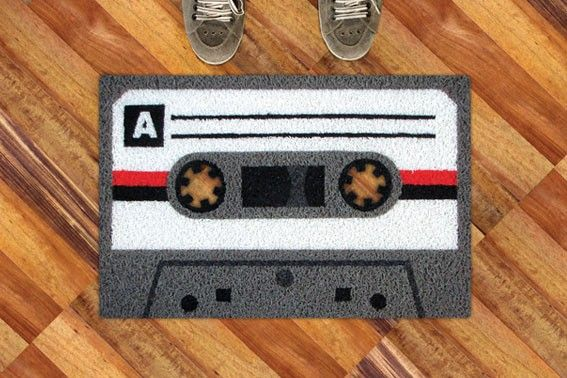 Cassette Carpet Decor