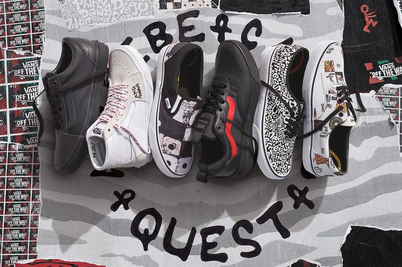 Collaborative Hip-Hop Sneakers