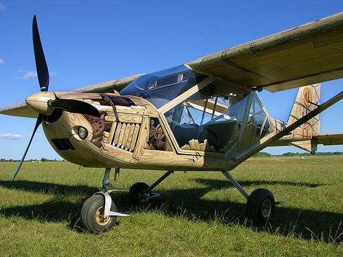 A22 Steampunk Plane