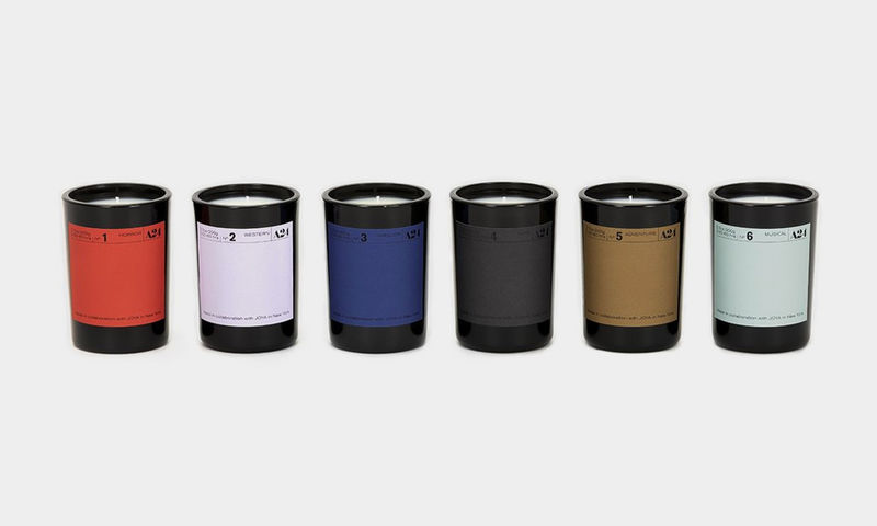 Cinematically Scented Candle Collections