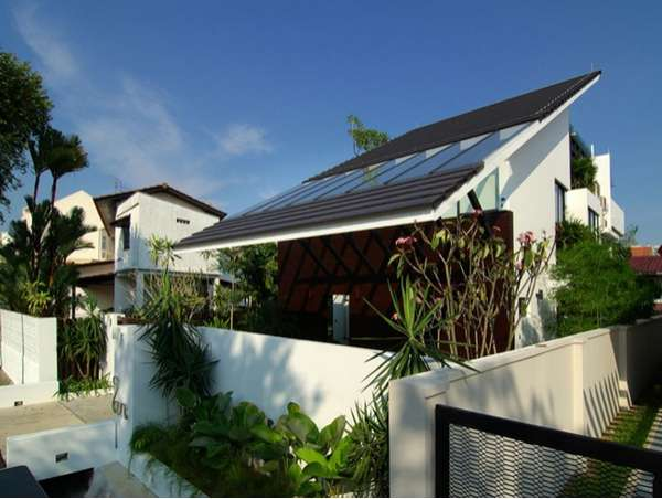 Triangular Eco Homes