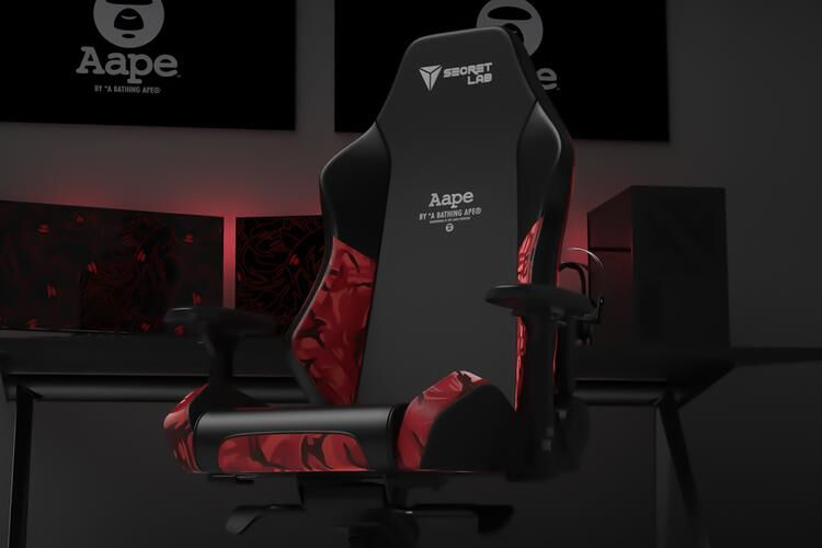 Collaboration Camo Gaming Chairs