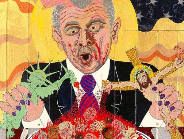 Psychdelic Parody Illustrations