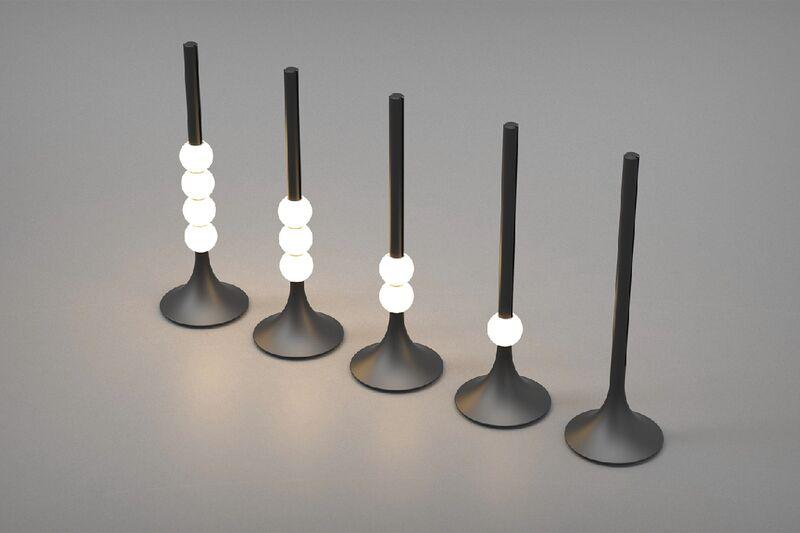 Abacus-Inspired Lighting Fixtures