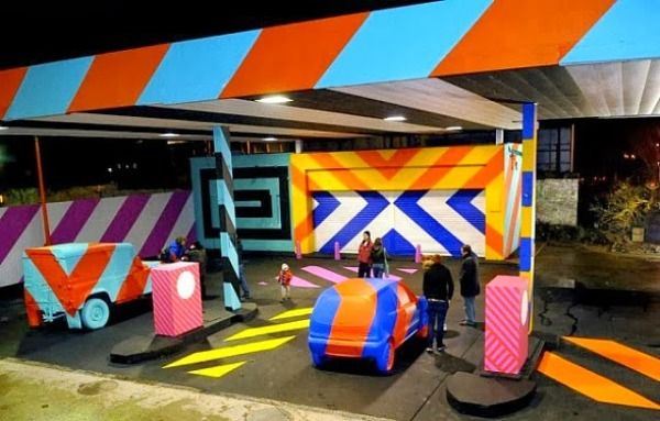 Graffiti-Covered Gas Stations