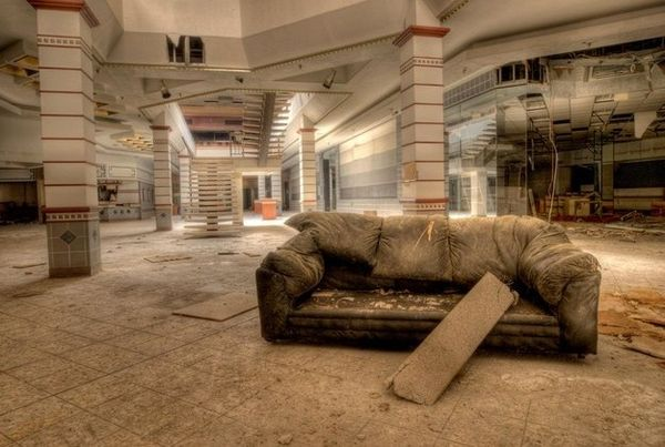 Abandoned Mall Photography