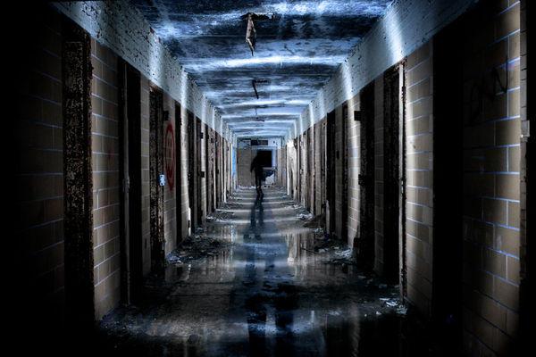 Abandoned Prison Photography